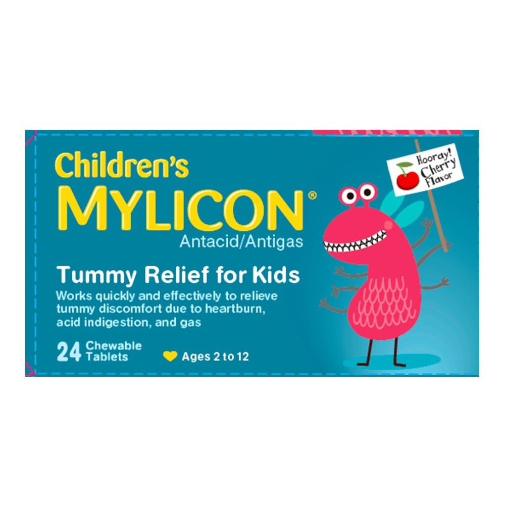 Mylicon Children's Multi Symptom Chewables (Pack of 8)