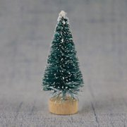 KABOER Decorative Small Christmas Tree Sisal Snow Tower Pine Blue Green Gold Silver Red Mini Christmas Tree Ornaments