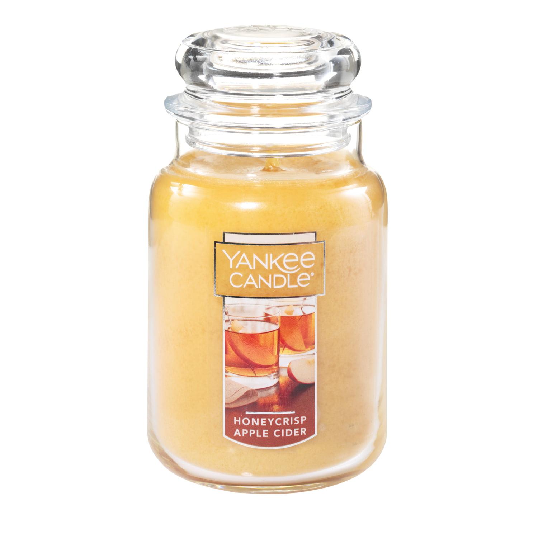Yankee Candle Large Jar Candle, Honeycrisp Apple Cider