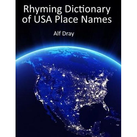 Rhyming Dictionary of Usa Place Names - eBook - Modern Rhyming Dictionary