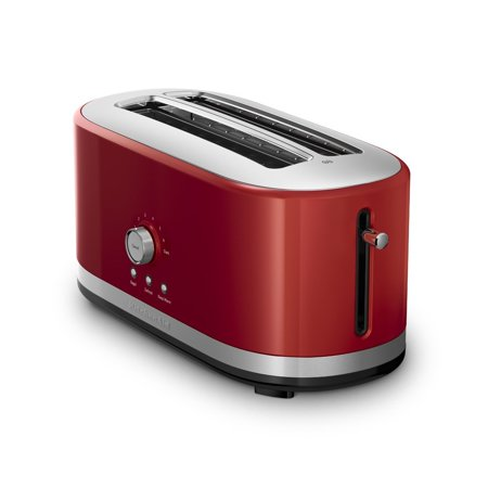 KitchenAid RRKMT4116ER 4 Slice Long Slot Toaster with High Lift Lever, Empire Red (CERTIFIED