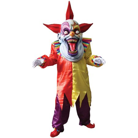 Evil Clown Adult Halloween Costume - Clown Outfits For Halloween