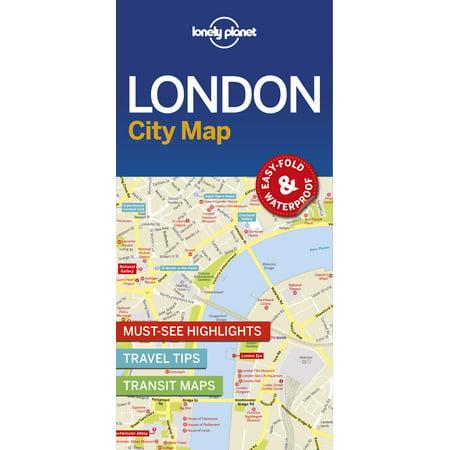 London city map - folded map: 9781786574138 (London Map Guide)