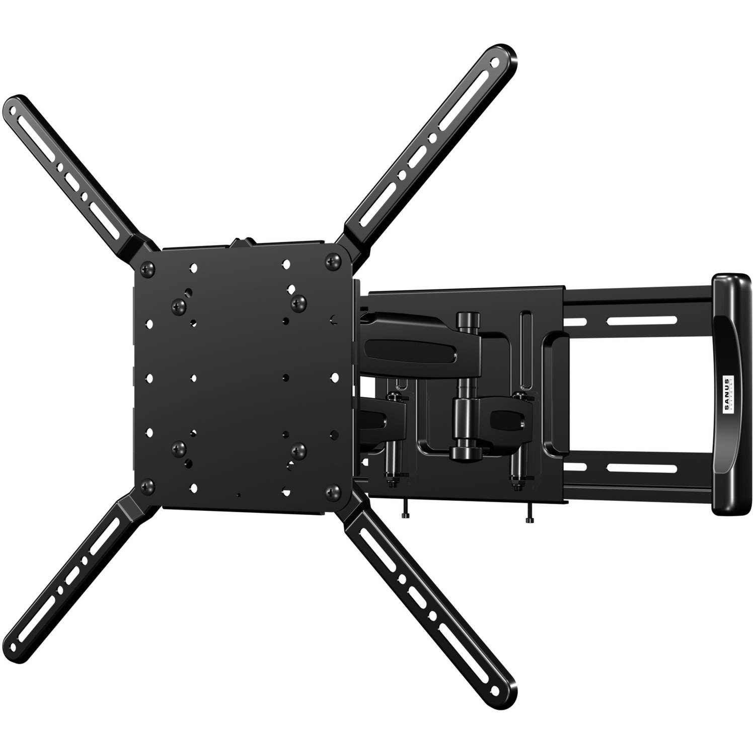 "SANUS VuePoint Full-Motion TV Wall Mount For 47""-75"" TVs"