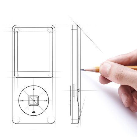 NEW Fashion Portable MP3 MP4 Player LCD Screen FM Radio Video Games Movie (Halloween Movie Quotes Mp3)