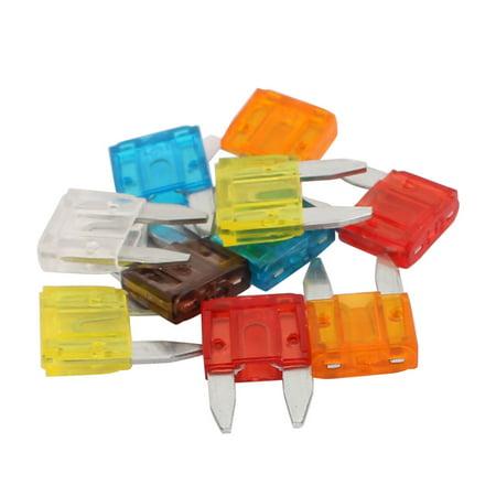 10way small car fuse box w 5a 7 5a 10a