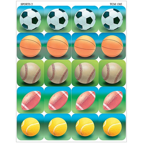 Teacher Created Resources Sports 2 Sticker