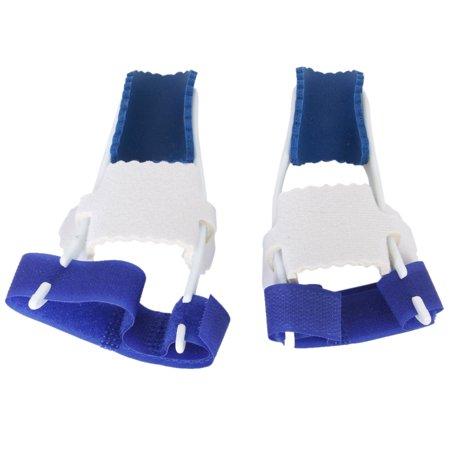Big Toe Bunion Straighteners Night Splint Hallux Valgus Pad Correctors Foot Care  White Blue   A Pair Of Pack