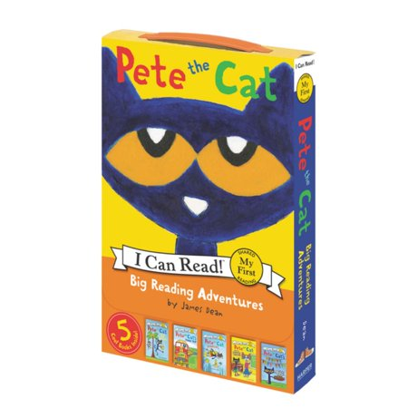 Pete the Cat: Big Reading Adventures : 5 Far-Out Books in 1 Box! ()
