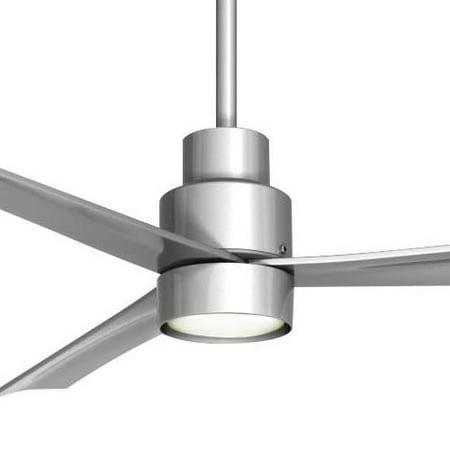 Minka aire k9787l sl single globe silver ceiling fan light fixture minka aire k9787l sl single globe silver ceiling fan light fixture aloadofball Images