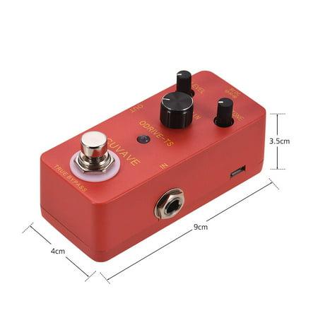 CUVAVE ODRIVE-TS Analog Overdrive Guitar Effect Pedal Zinc Alloy Shell True Bypass - image 3 de 6