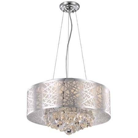 UPC 842814130302 product image for Elegant Lighting Value Prism 7LT Chrome Pendant - V2079D20C/RC | upcitemdb.com