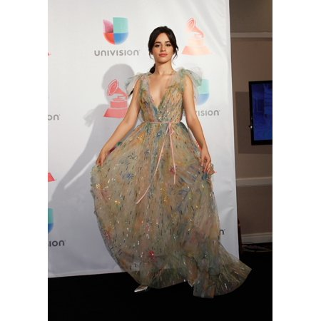 Camila Cabello In The Press Room For 18Th Annual Latin Grammy Awards Show - Press Room Mgm Grand Garden Arena Las Vegas Nv November 16 2017 Photo By JaEverett Collection Celebrity