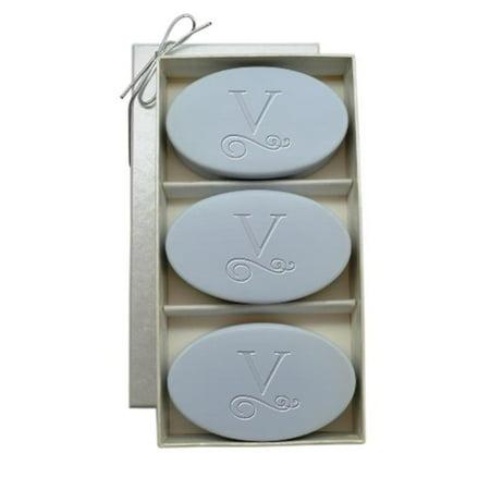 Flourish Trio - Carved Solutions Signature Spa Trio Wild Blue Lupin-Pi-Flourish-T Soap
