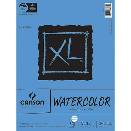 Hahnemuhle Watercolor Paper (Watercolor Paper Pad, 30-Sheet, 9-Inch by 12-Inch, X-Large )