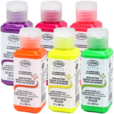 color testors aztek premium fluorescent acrylic airbrush