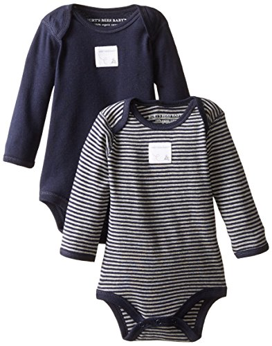 2-Pack Organic Cotton Short /& Long Sleeve One-Pieces Burts Bees Baby Unisex Baby Bodysuits