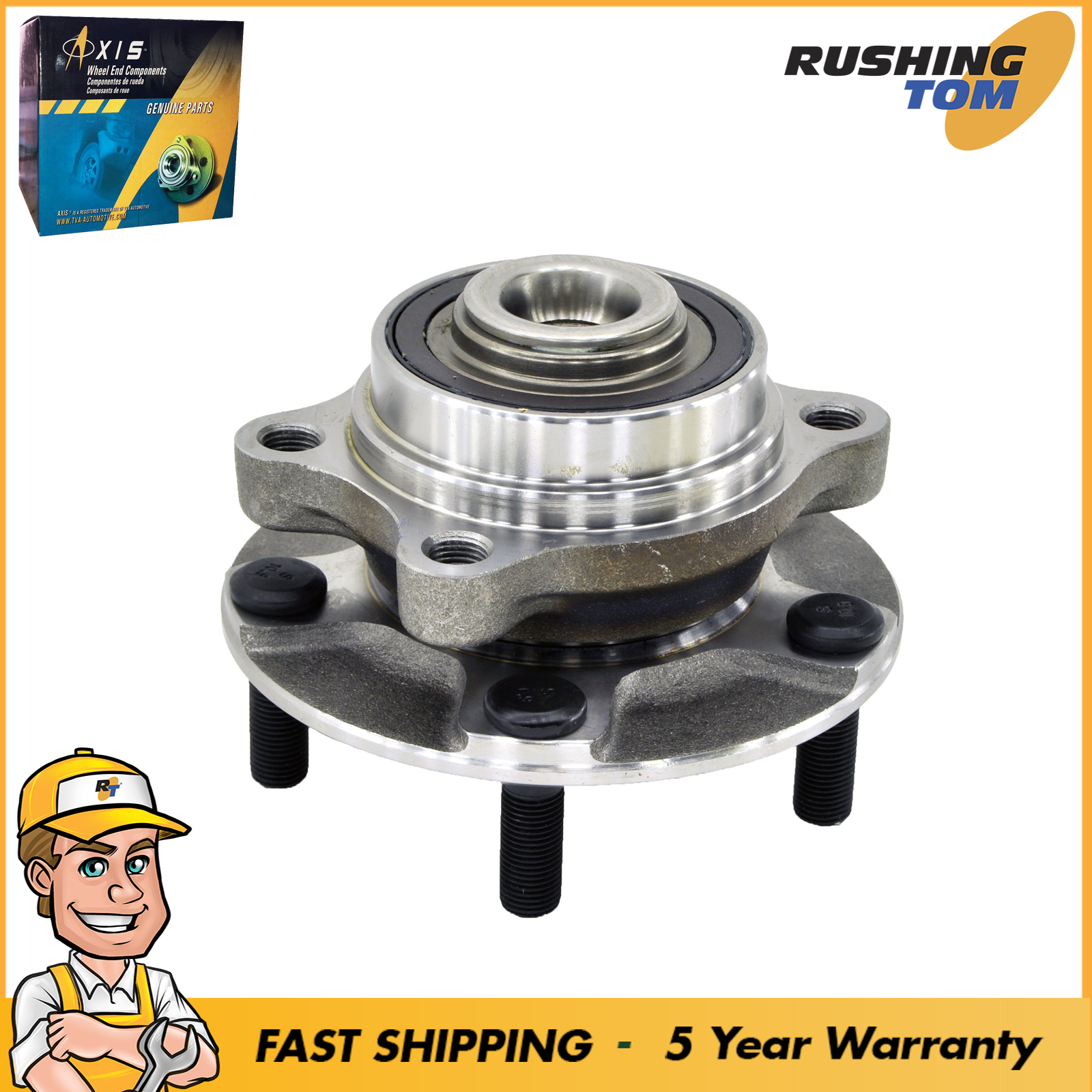 New Front Wheel Hub Bearing Assembly Fits 03-09 Nissan 350Z W/5 Year Warranty