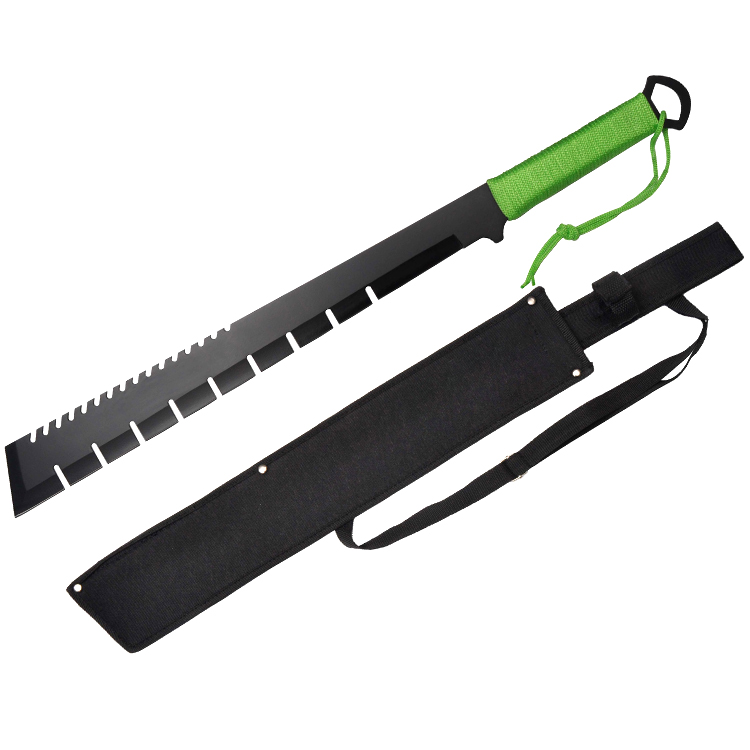 "Defender Survival Hunting steel Machete 25"" Full Tang Blade with Nylon Sheath by Defender"