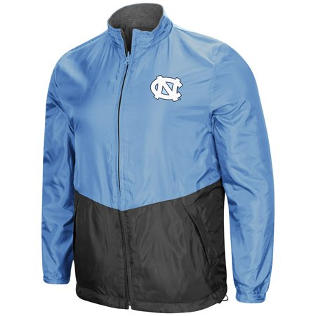 Fleece Notre Dame Irish Jacket - Colosseum NCAA Men's Halfback Reversible Full Zip Fleece Jacket