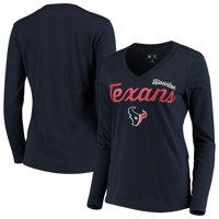 229ffdbc8 Product Image Houston Texans G-III 4Her by Carl Banks Women s Preseason V- Neck Long Sleeve
