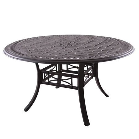 Darlee Series 88 54 Round Patio Dining Table In Antique Bronze Walmar