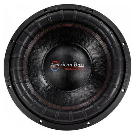 "American Bass ELITE-1544 2400w 15"" Competition Car Subwoofer 3"" Voice Coil/200Oz"