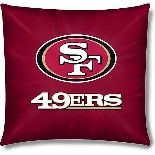 """NFL San Francisco 49ers Official 15"""" Duck Toss Pillow"""