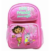 Medium Backpack - - Running w/Boots Flowers New Bag 39478