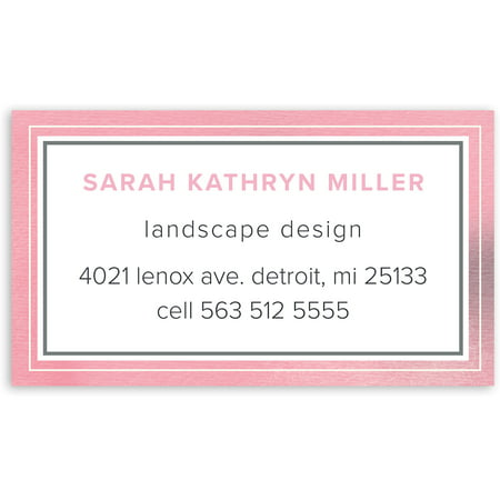 Personalized Business Cards (Graceful Script - Personalized 3.5 x 2 Business Card )