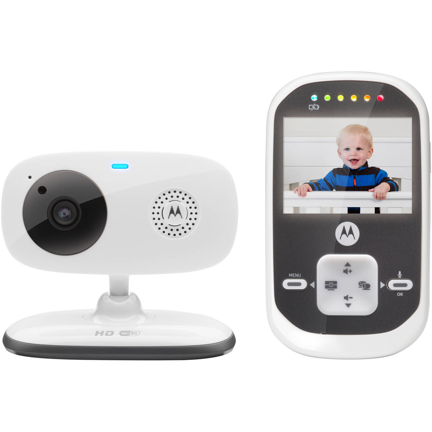 Motorola MBP662CONNECT Digital Video Baby Monitor with Wi-Fi Internet Viewing