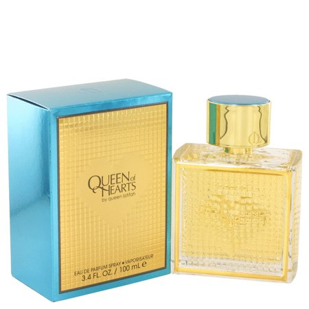 Queen Latifah Queen of Hearts Eau De Parfum Spray for Women 3.4