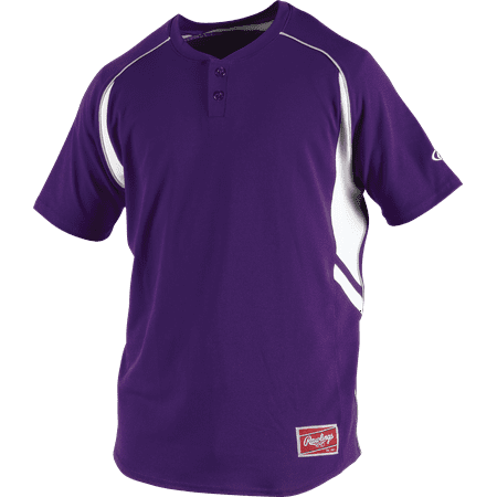 Rawlings Baseball Jersey (Rawlings Youth 2-Button Henley Baseball)