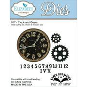 "Elizabeth Craft Designs EC917 Elizabeth Craft Pop It Up Metal Dies By Karen Burniston - Clock & Gears, 4.25""X4.75"""
