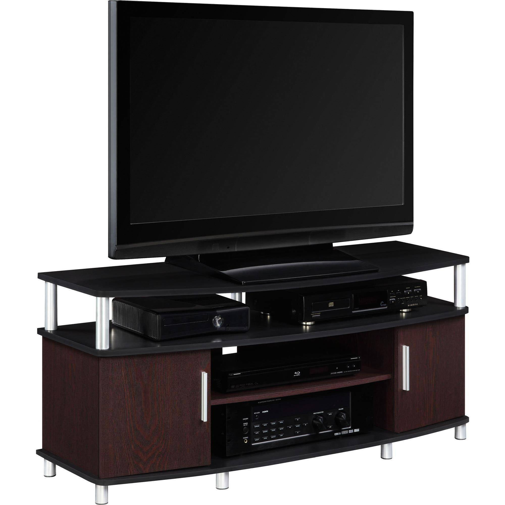 carson tv stand for tvs up to  multiple finishes  walmartcom -