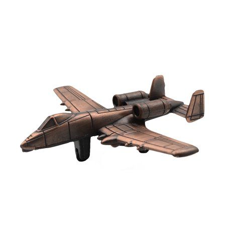 USAF Model A-10 Warthog Plane Die Cast Pencil Sharpener Air Force/Military Gift