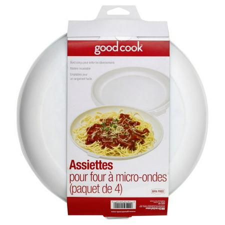 Bradshaw International, GoodCook Microwave Plates, 4 plates