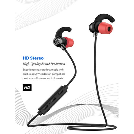 Ixir Apple Bluetooth, Wireless Headphones Bluetooth 4.1 Earbuds with Mic , Sweat Proof Earphones for Gym Running Workout 9 Hour Battery Noise Cancelling Headsets by