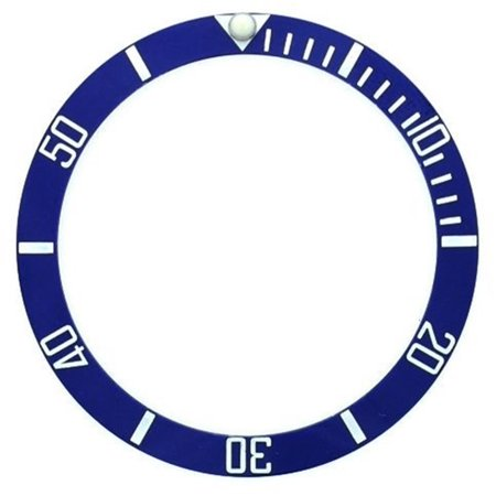 - NEW BEZEL INSERT CERAMIC FOR ROLEX SUBMARINER BLUE SILVER 116610  SAPPHIRE PART