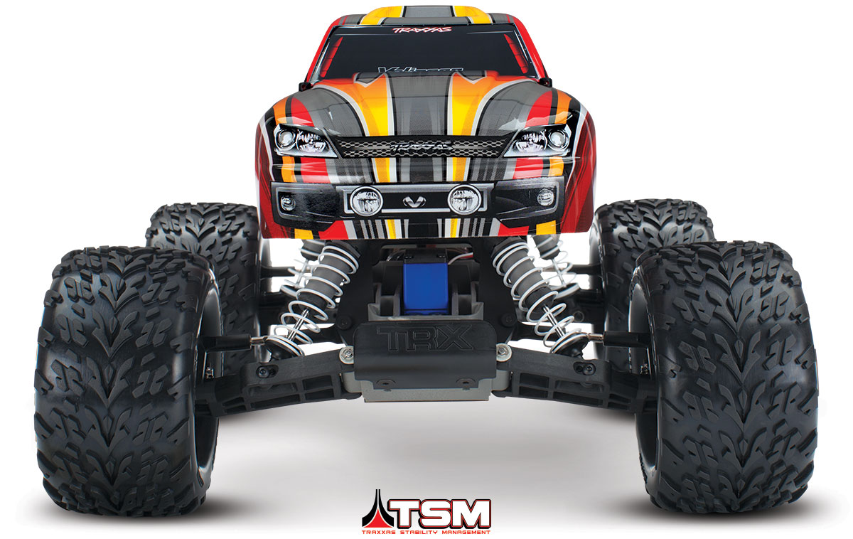 Traxxas 360763T1 Stampede VXL, RTR, TSM, w out Module, Red by TRAXXAS