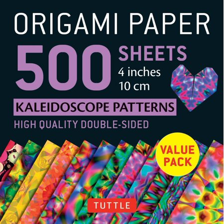 Origami Paper 500 Sheets Kaleidoscope Patterns 4