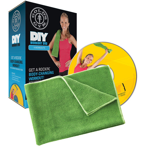 Gold's Gym DIY Workout DVD Kit