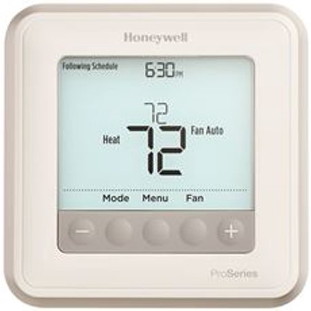 Cool Thermostat (Honeywell T6 Pro Programmable Thermostat, 2 Heat / 1 Cool )