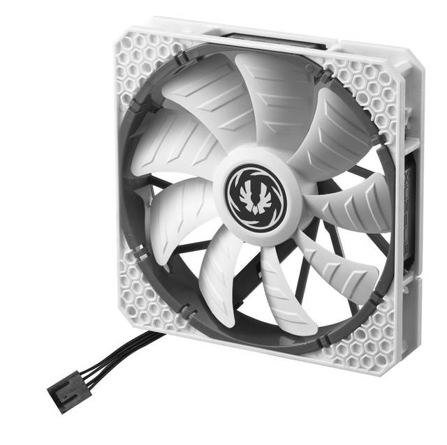 BitFenix Spectre Pro PWM 140mm Case Fan (White) BFF-SPRO-P14025WW-RP