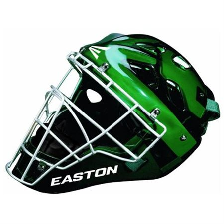 Easton Stealth SE baseball softball catchers gear hockey style helmet Green S