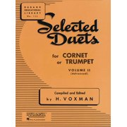 Rubank Educational Library: Selected Duets for Cornet or Trumpet, Volume II Advanced (Other)