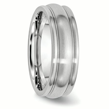 Cobalt 7mm Rounded Edge Wedding Ring Band Size 7.00 Classic Domed W/edge Fashion Jewelry Gifts For Women For Her - image 8 de 10
