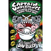 Captain Underpants and the Tyrannical Retaliation of the Turbo Toilet 2000 (Captain Underpants #11) (Hardcover)