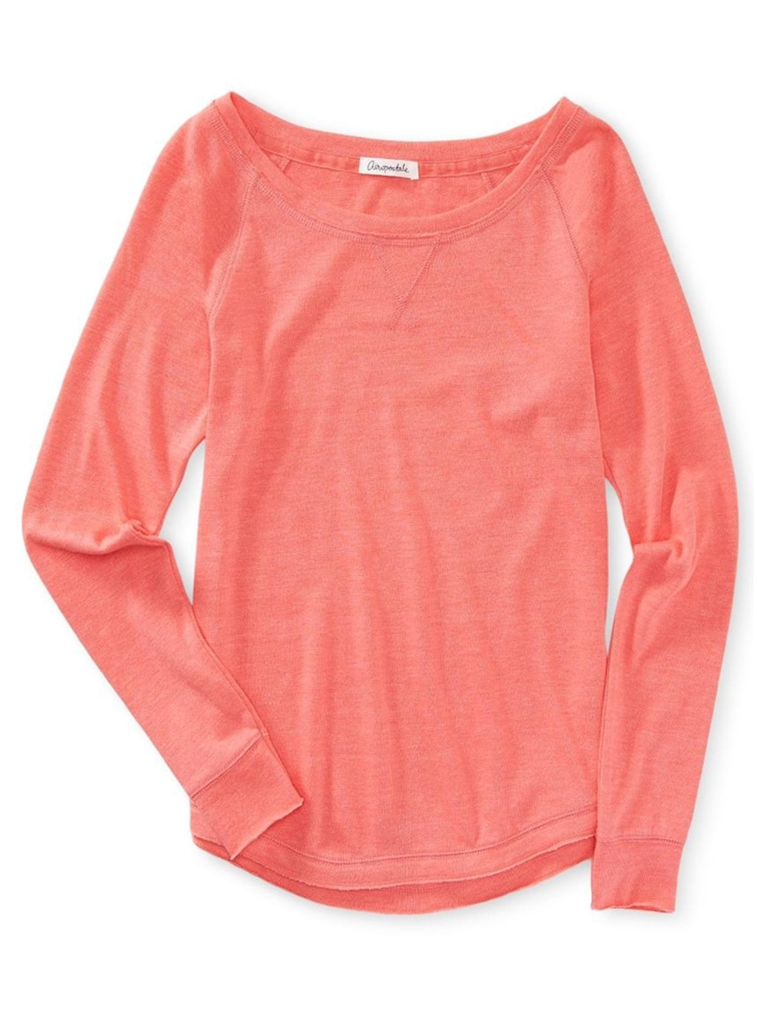 Aeropostale Juniors Solid Raglan Sweatshirt