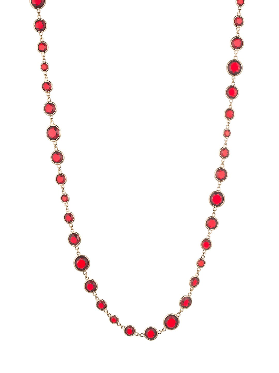 Crystal Single-Strand Necklace